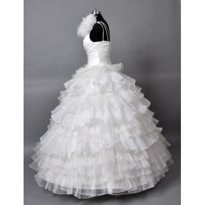 Romantické svatební šaty - velikost M
