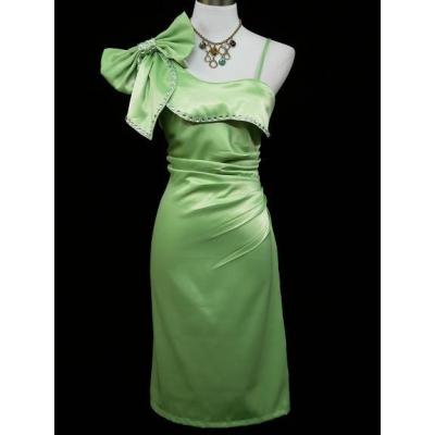 Zelené koktejlové šaty