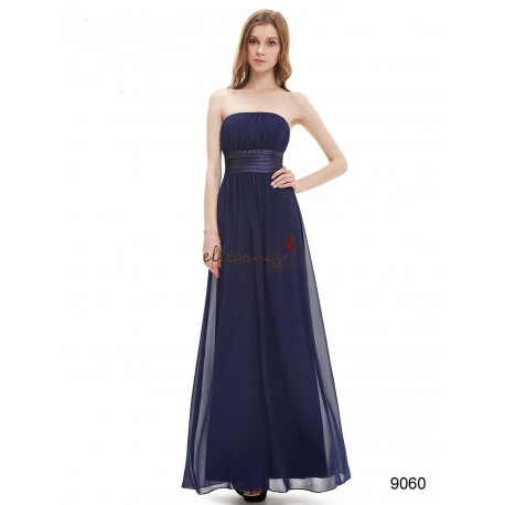 Ever-Pretty Dlouhé tmavě modré společenské šaty 1fc9e02a84b