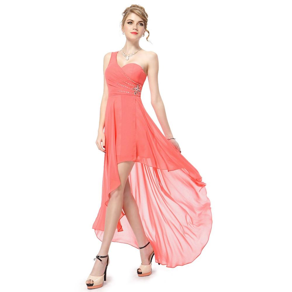 Společenské šaty s jedním ramínkem